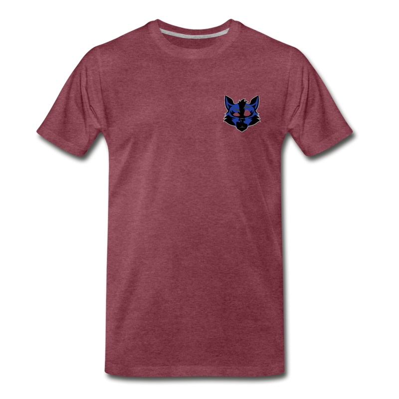 Wolfey's Premium T-Shirt - heather burgundy