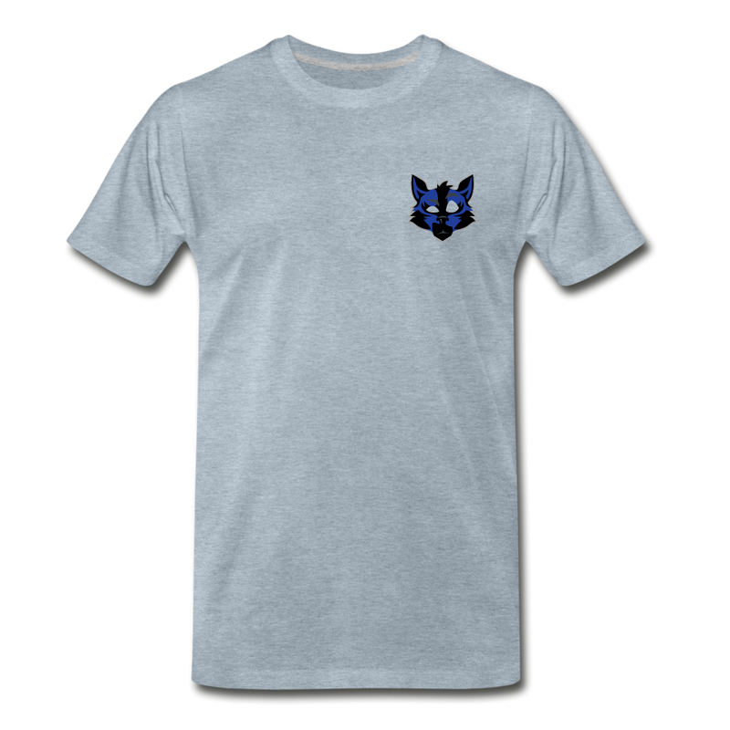 Wolfey's Premium T-Shirt - heather ice blue