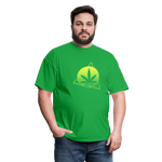 Green Weed Unisex Classic Tee - bright green