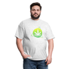 Green Weed Unisex Classic Tee - light heather gray