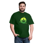 Green Weed Unisex Classic Tee - forest green