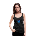 Weed 420 Women's Premium Tank Top - black