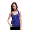 Weed 420 Women's Premium Tank Top - royal blue
