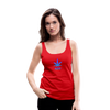 Weed 420 Women's Premium Tank Top - red