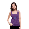 Weed 420 Women's Premium Tank Top - purple