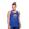 J.E.E.P. Women's Flowy Tank Top by Bella - royal blue