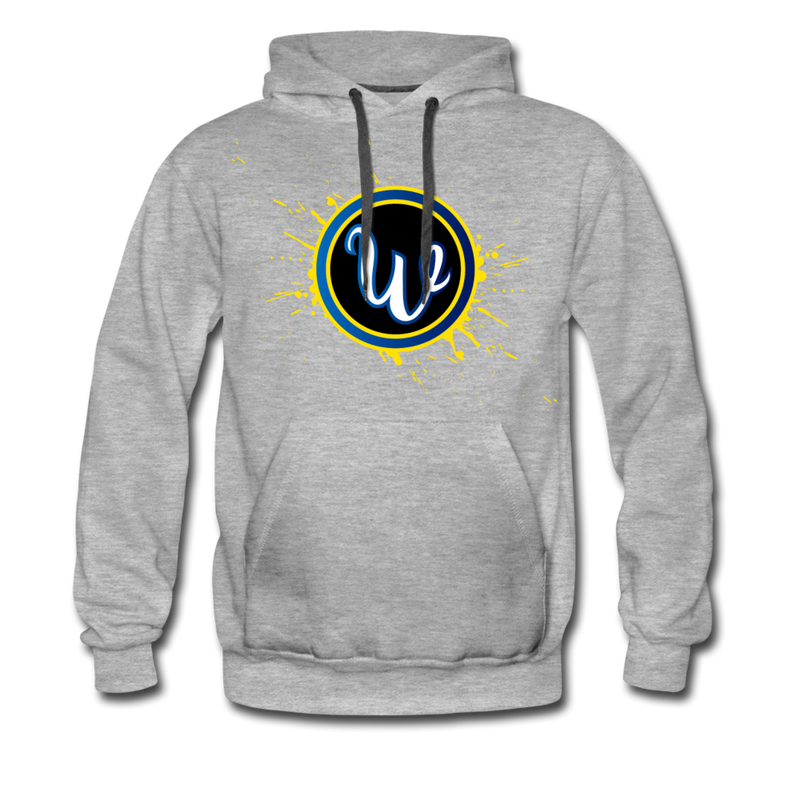 Wiffd Men's Premium Hoodie - heather gray