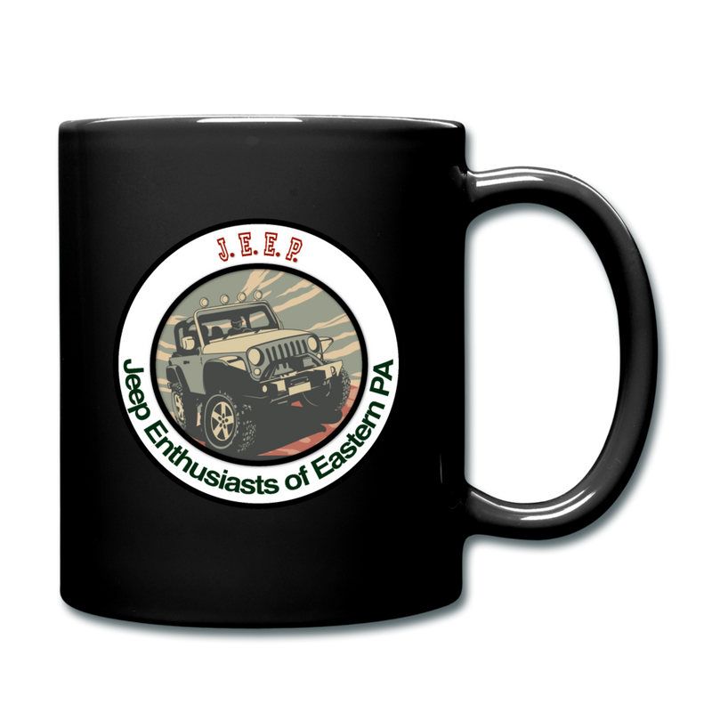 J.E.E.P. Full Color Coffee Mug - black