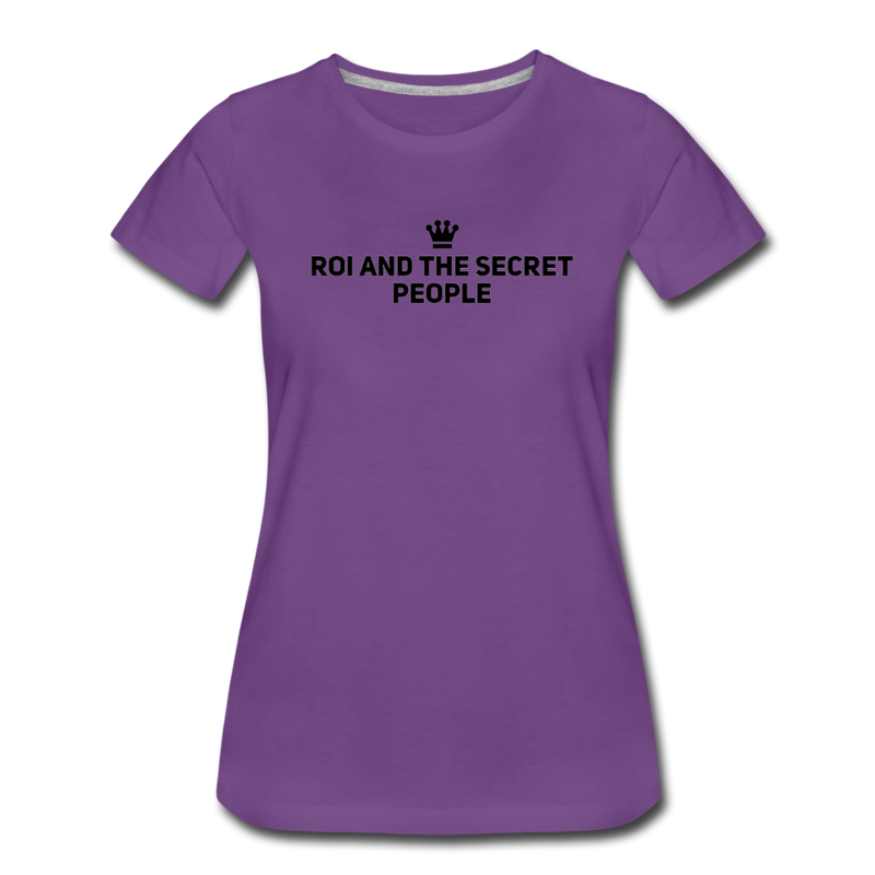 Crown Women's T-Shirt - purple