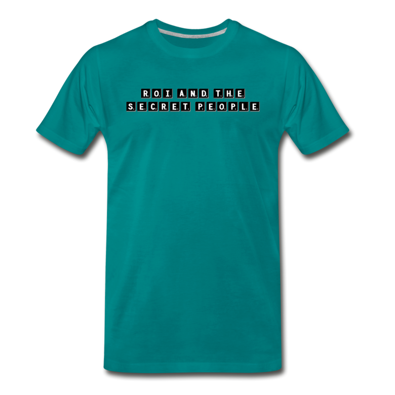 Block Premium T-Shirt - teal