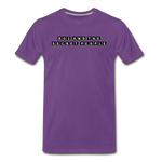 Block Premium T-Shirt - purple