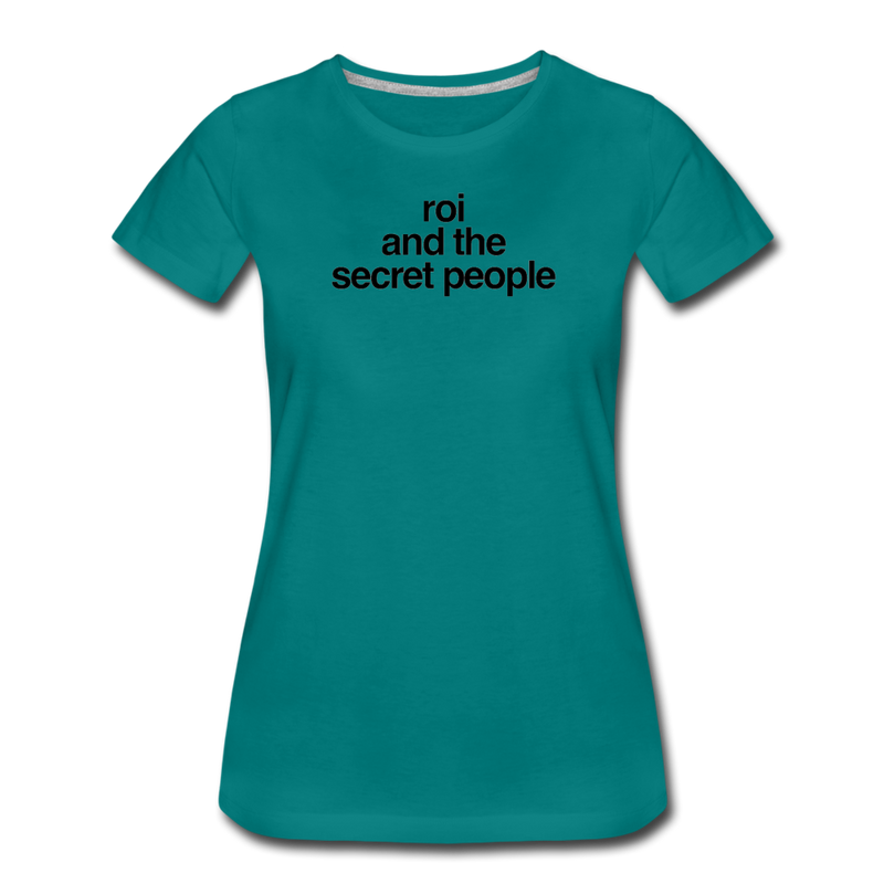 Lowercase Women's T-Shirt - teal