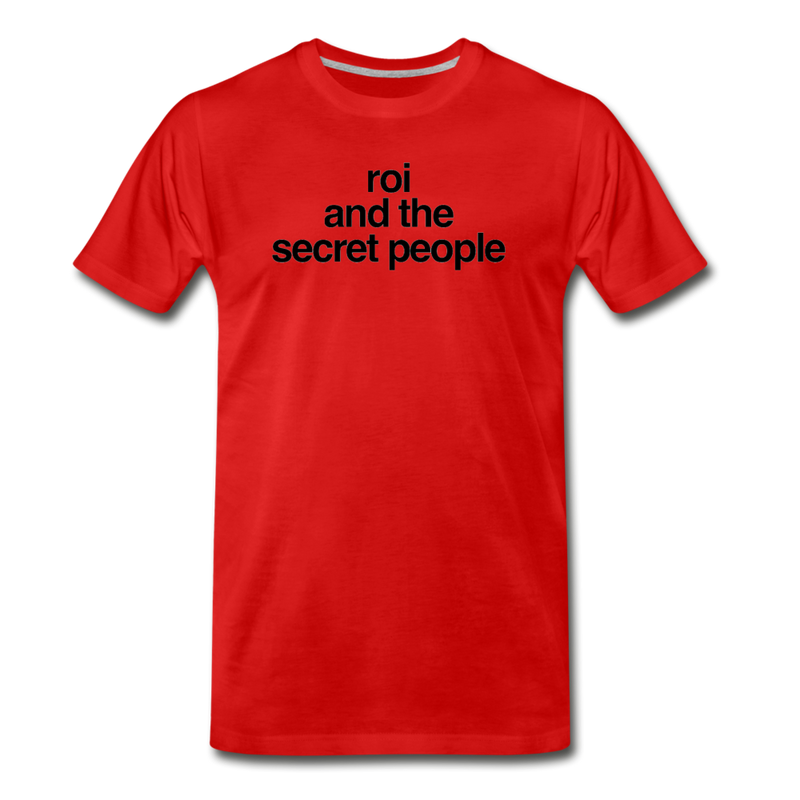Lowercase Premium T-Shirt - red