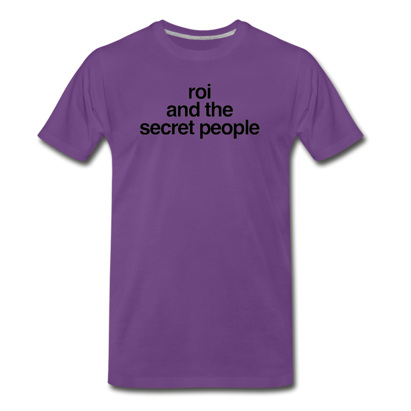 Lowercase Premium T-Shirt - purple