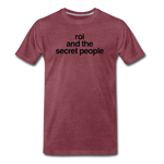 Lowercase Premium T-Shirt - heather burgundy