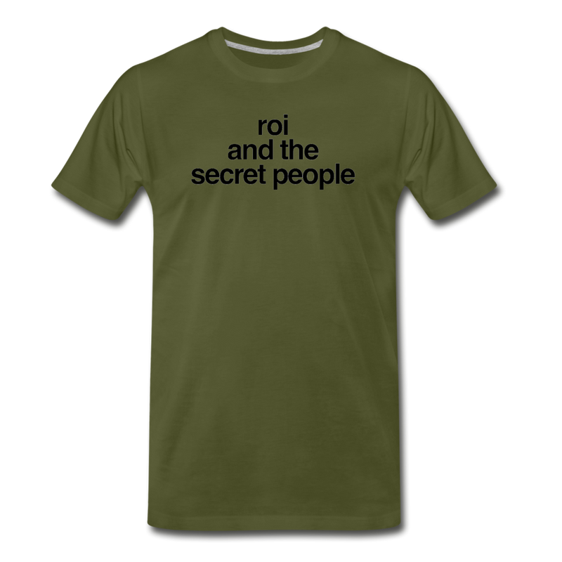 Lowercase Premium T-Shirt - olive green