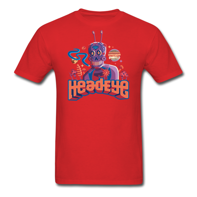 Robot T-Shirt - red