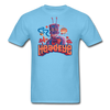 Robot T-Shirt - aquatic blue