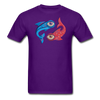 Pisces T-Shirt - purple