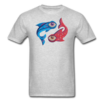 Pisces T-Shirt - heather gray