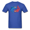 Pisces T-Shirt - royal blue