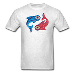 Pisces T-Shirt - light heather gray