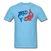Pisces T-Shirt - aquatic blue