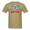HeadEye Peace T-Shirt - khaki