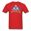 HeadEye Peace T-Shirt - red
