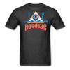 HeadEye Peace T-Shirt - heather black