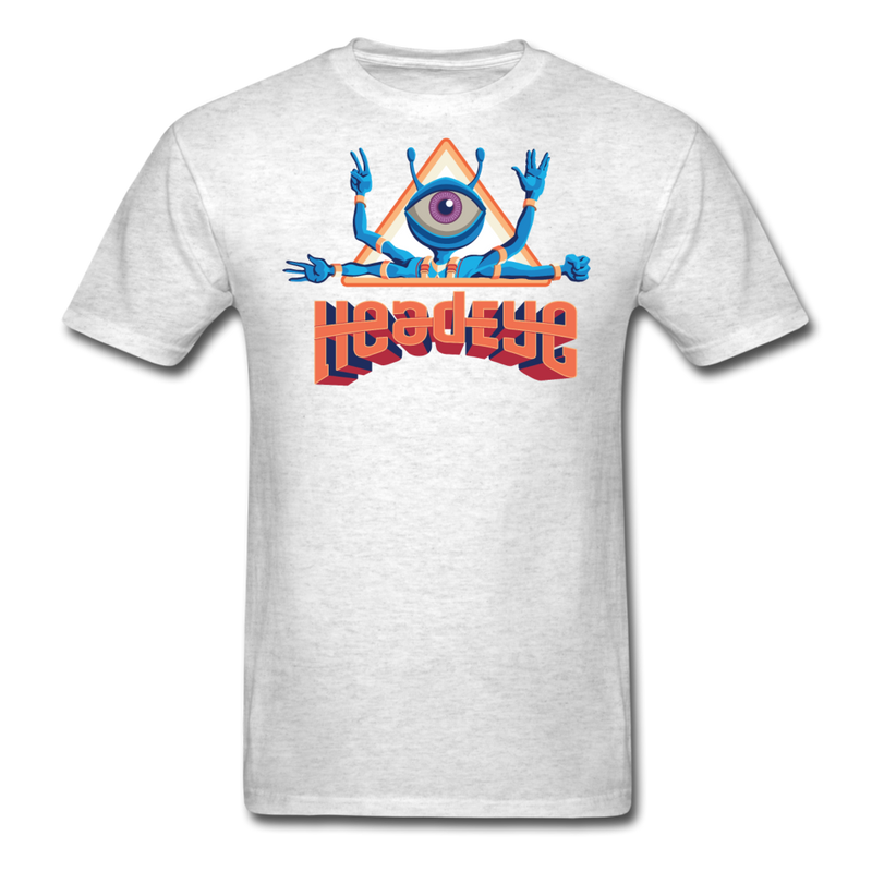 HeadEye Peace T-Shirt - light heather gray