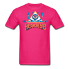 HeadEye Peace T-Shirt - fuchsia