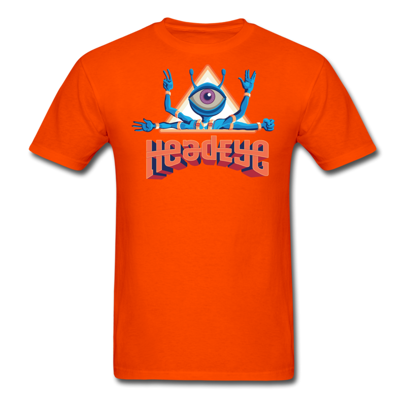 HeadEye Peace T-Shirt - orange