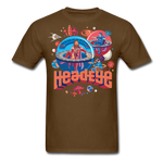 Globes T-Shirt - brown