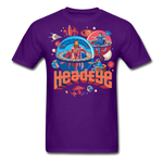 Globes T-Shirt - purple