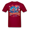 Globes T-Shirt - dark red
