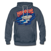 Mothership Premium Hoodie - heather denim