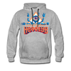 HeadEye Peace Premium Hoodie - heather gray