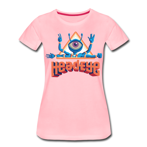 HeadEye Peace Women's T-Shirt - pink