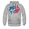 Pisces Premium Hoodie - heather gray