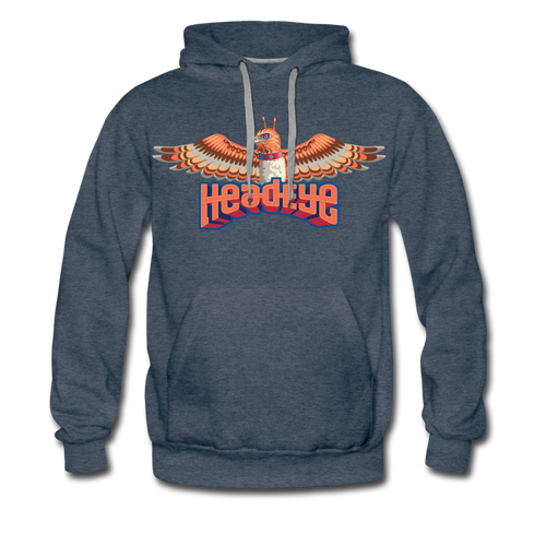 Hawkeye Premium Hoodie - heather denim