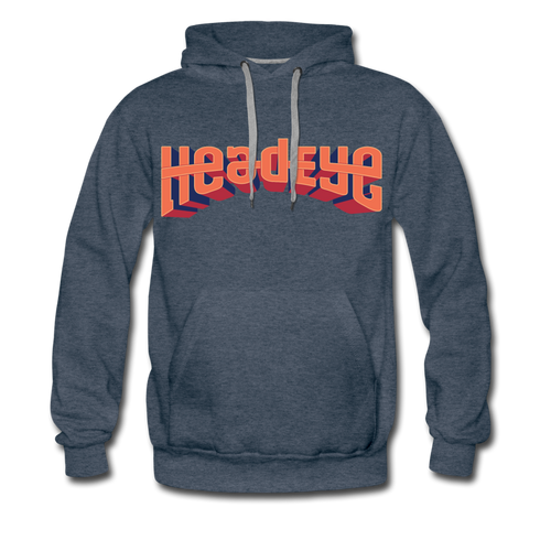 Logo Premium Hoodie - heather denim