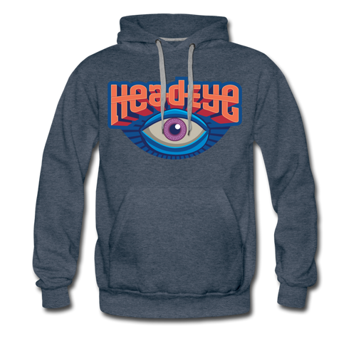 Eye Premium Hoodie - heather denim