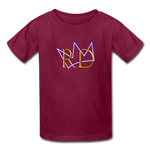 The Royal Army Kids' T-Shirt - burgundy