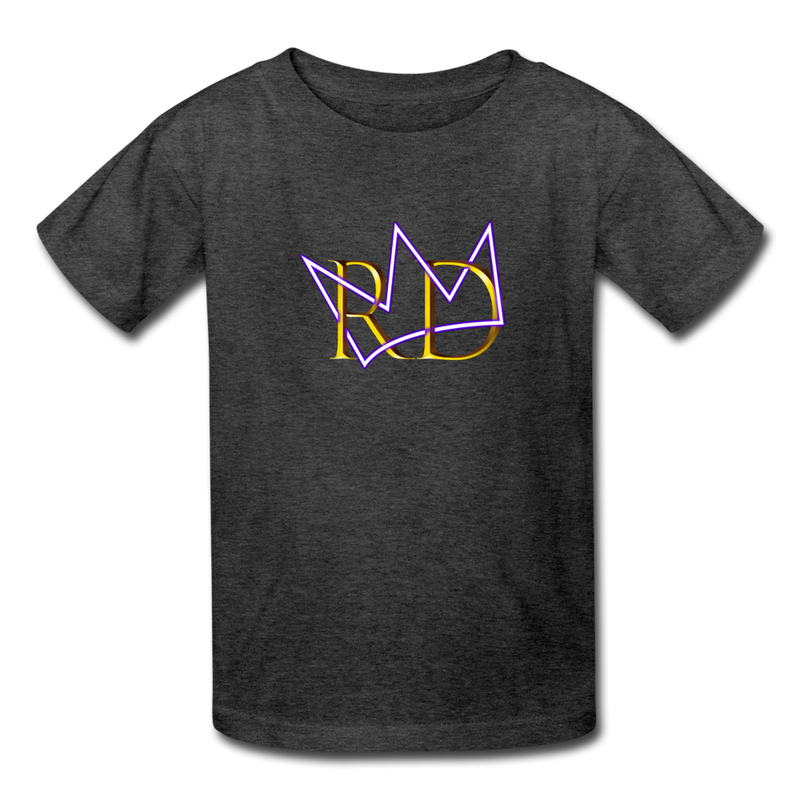 The Royal Army Kids' T-Shirt - heather black