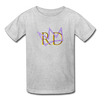 The Royal Army Kids' T-Shirt - heather gray