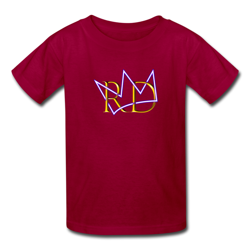 The Royal Army Kids' T-Shirt - dark red