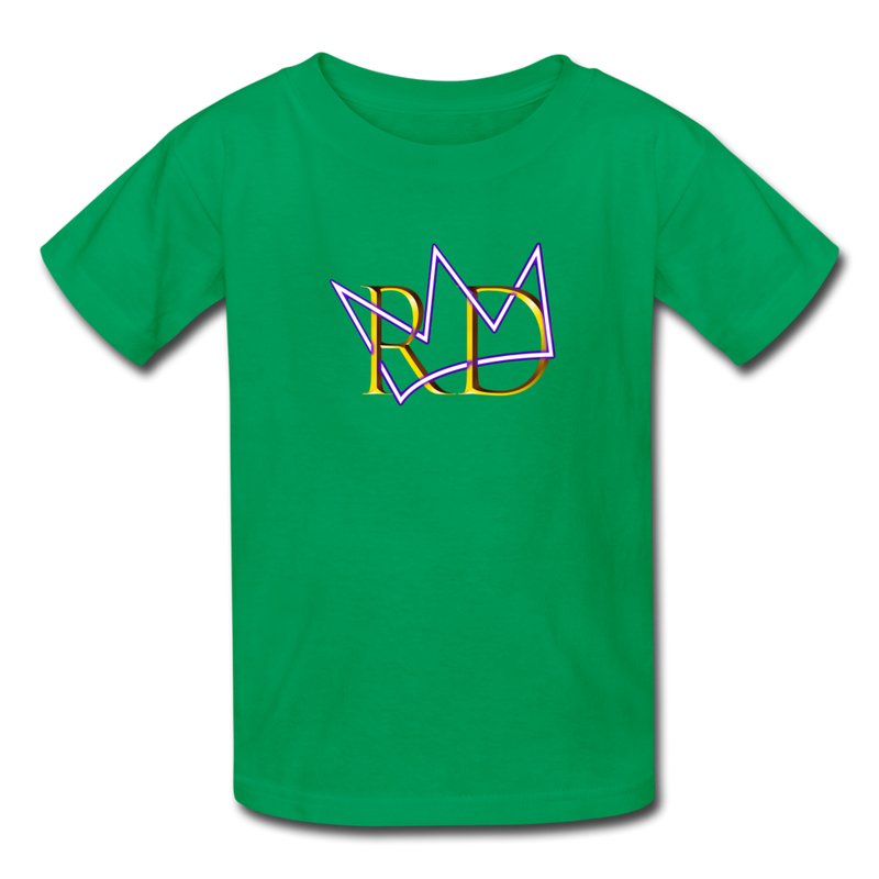 The Royal Army Kids' T-Shirt - kelly green