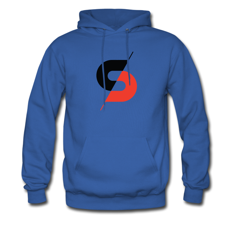 Men's Hoodie (Style B) - royal blue