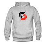 Men's Hoodie (Style B) - heather gray